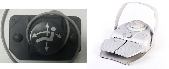 dental chair foot control joystick