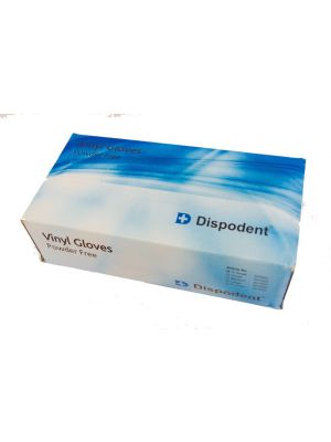 Dispodent Vinyl Powder-free Gloves