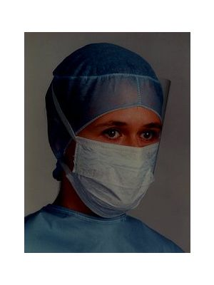 3M Health Care Tie-on Surgical Mask with Face Shield (1818FS)