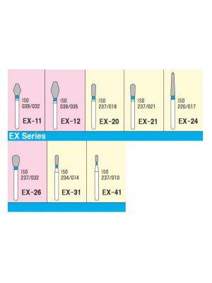 Mani Diamond Burs - Special (Extra) Shape / EX Series