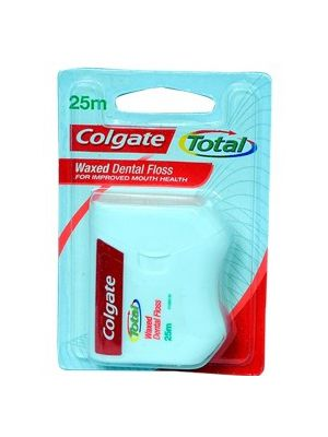 Colgate Total Dental Floss Waxed - 25m