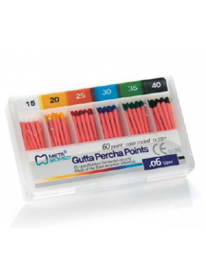Meta Gutta Percha Points Special Tapered