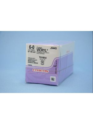 Ethicon Vicryl #6-0 Absorbable Violet Braided Suture