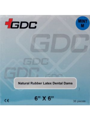 GDC Rubber Dam Sheet
