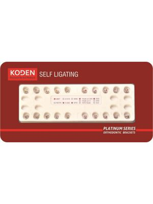 Koden Self Ligating Bracket MBT - 0.022