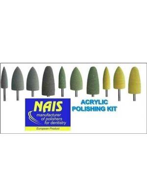 Nais Acrylic Denture Lab Polishing Kit