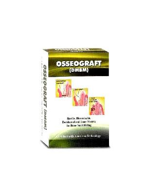 Advanced Biotech Osseograft DMBM (De Mineralized Bone Matrix) - 2x0.25 g