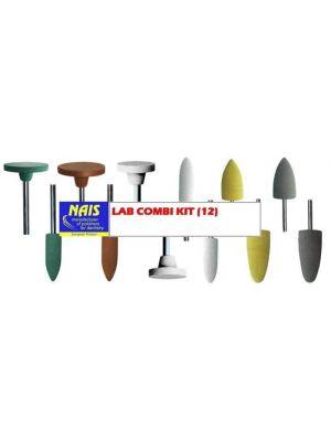Nais Combi Lab Polishing Kit - 12 Pcs