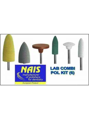 Nais Combi Lab Polishing Kit - 6 Pcs