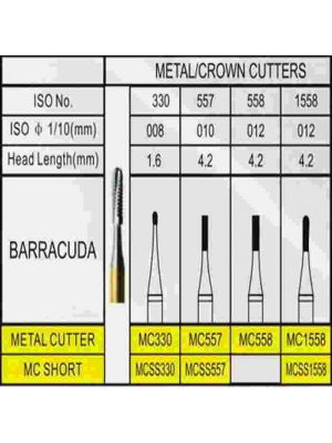 Cross Tech FG Carbide Burs - Metal Cutter