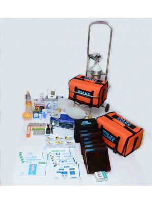 Denlife Medical Emergency Kit Premium