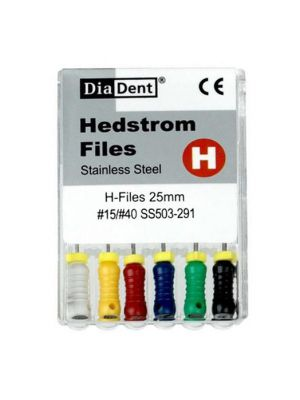 Diadent Stainless Steel H Files