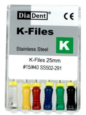 Diadent Stainless Steel K Files