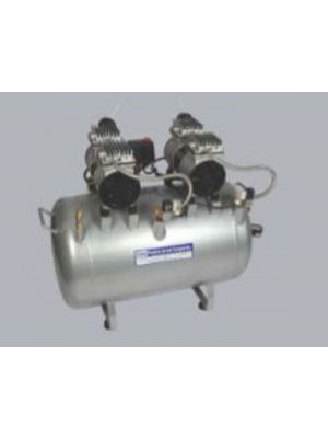 Crowndent Double Head Air Compressor - 0.75 Hp