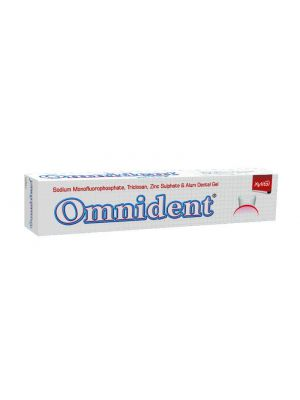 Group Pharmaceuticals Omnident Toothpaste