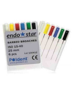 EndoStar Barbed Broaches