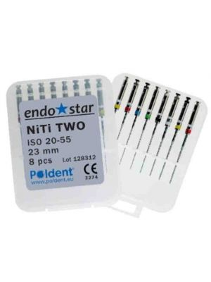 EndoStar NiTi Two Rotary Files