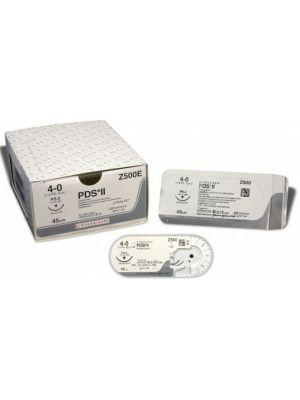 Ethicon PDS II #2 Violet Monofilament Suture - 90cm #45mm (W9248T)