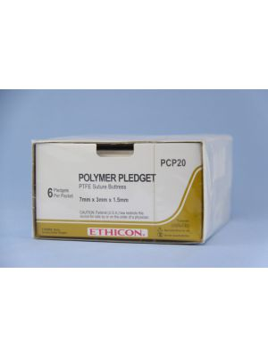 Ethicon Polymer Pledget PTFE Suture Buttress #7 x 3x 1.5mm (PCP20)