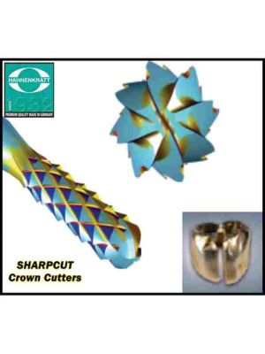 Hahnen Kratt Sharp Cut Burs - Crown Cutters #012