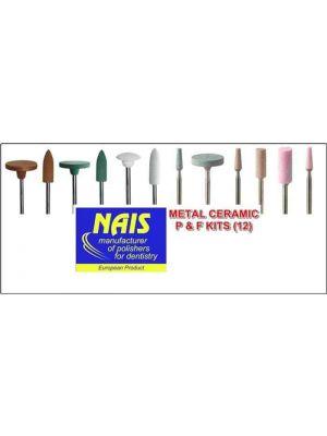 Nais Metal Ceramic Lab Polishing And Finishing Kit