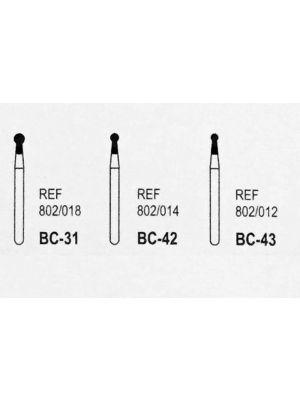Medicept Dental FG Shank Burs BC-Series