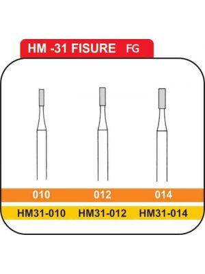 Meisinger Straight Fissure Carbide FG Burs