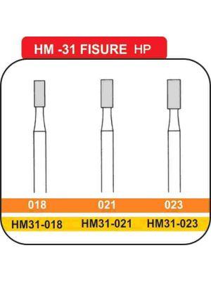Meisinger Straight Fissure Carbide HP Burs