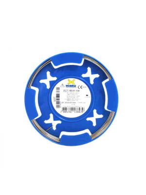 Morelli Orthodontic Half Round CrNi Wire 1.50 x 0.75mm (55.01.150)