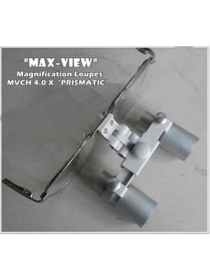 Max View Prismatic Lens Dental Loupe 4.0x - MVC 400 L
