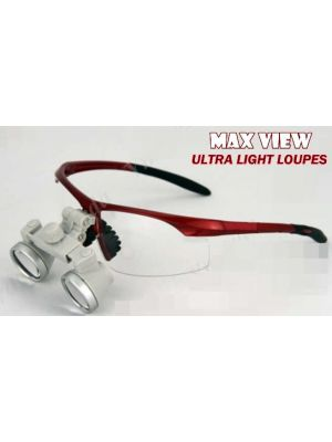 Max View Galilean Lens Dental Loupe 2.3x - MVS 2.3