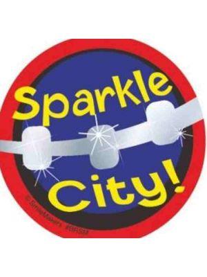 Navadha Sparkle Braces Stickers (NA569)