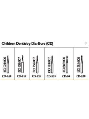 Oro FG Children Dentistry Diamond Burs (CD) Series