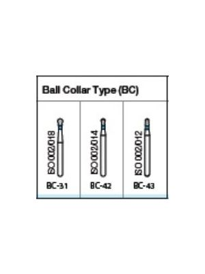 Oro FG Diamond Burs Ball Collar Type (BC) Series