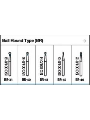 Oro FG Diamond Burs Ball Round Type (BR) Series