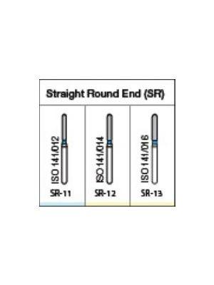 Oro FG Diamond Burs Straight Round End (SR) Series