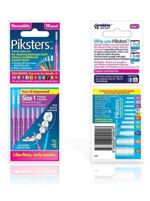Piksters Interdental Brushes - Size 1