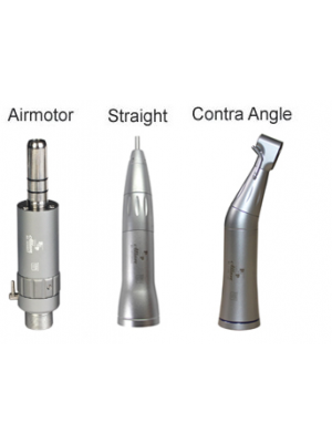 Allure Airmotor with Straight & Contra Hand Piece