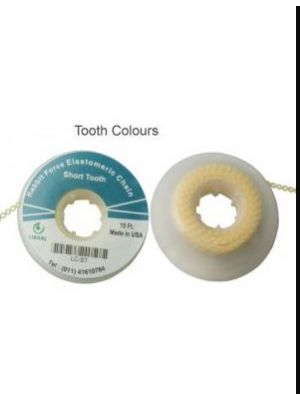 Rabbit Force Tooth Color Preformed Ligature Wire Long - 0.012