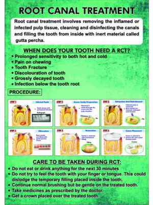 Root Canal Treatment - Leaflet