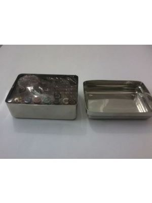 Samit Autoclavable Stainless Steel Endo Box