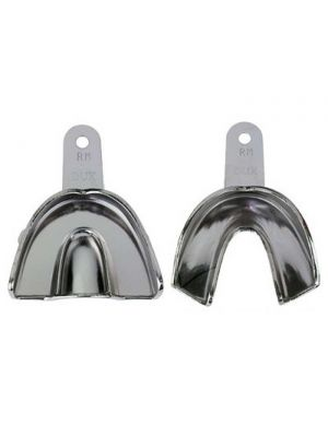 Samit Metal Edentulous Impression Trays