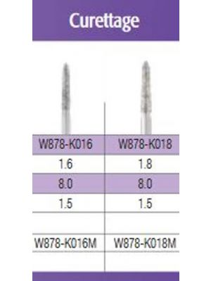 SS White G2 Diamond Burs - Curettage