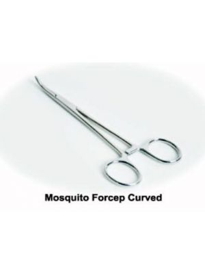 Top Dent Mosquito Forceps - Curved