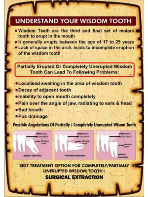 Understand Your Wisdom Tooth - Leaflet