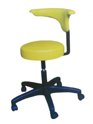 Syndicate Dental Stool With Backrest